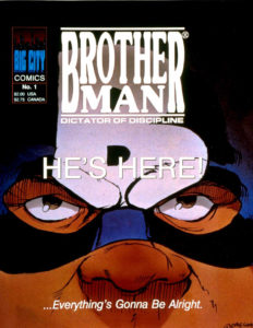 Brotherman: Dictator of Discipline #1 Cover